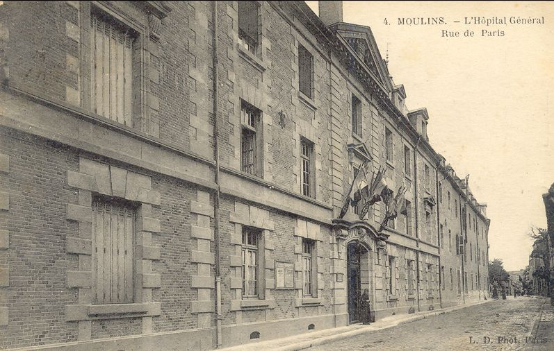 Moulins hopital general